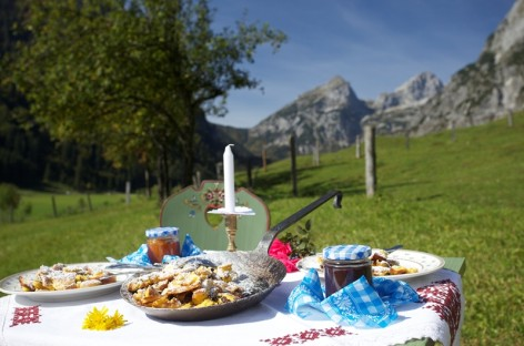 Enjoy great food amid glorious nature, in St. Martin am Tennengebirge