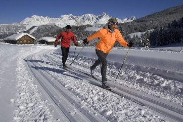 Cross-country skiing in St. Martin