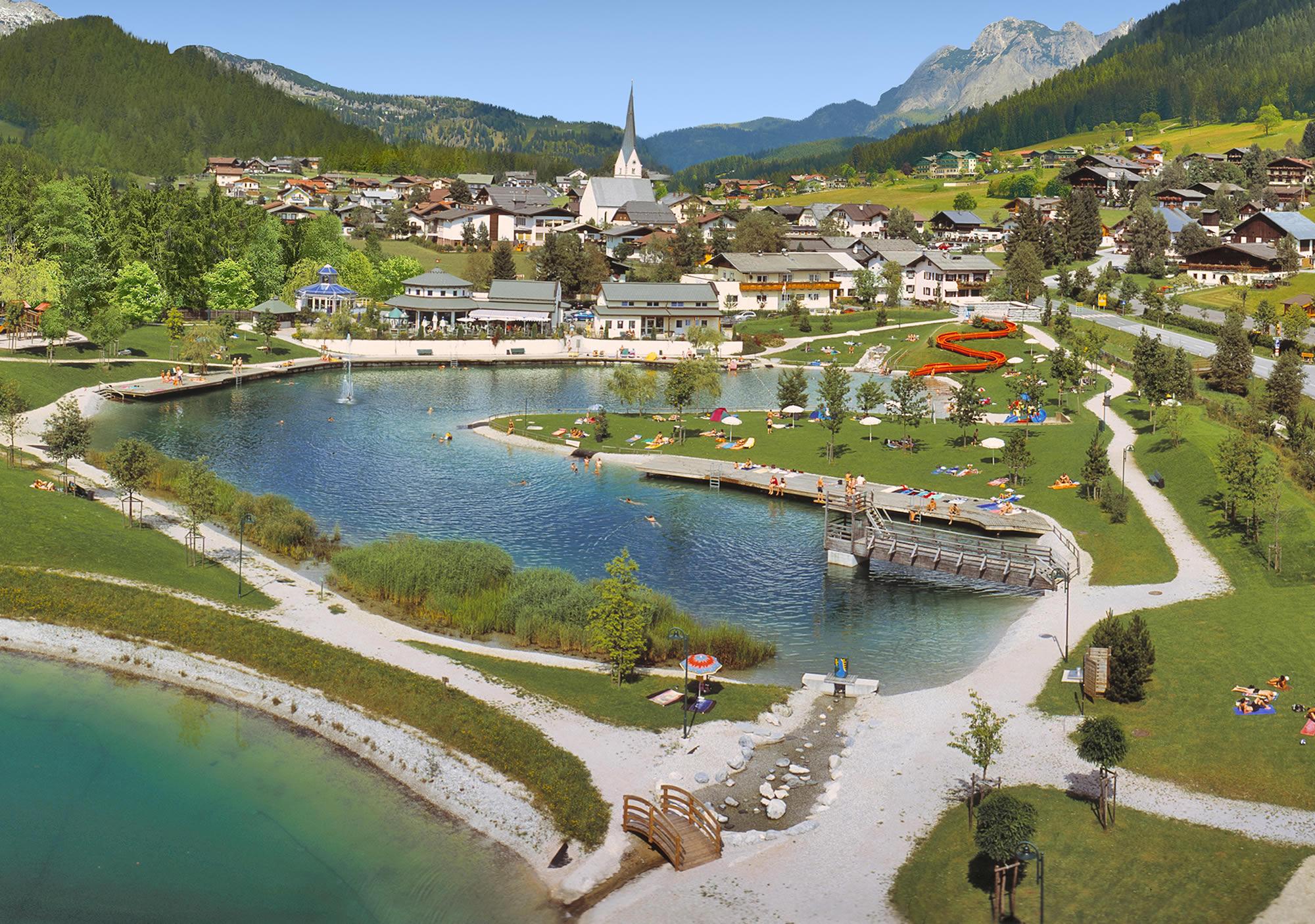 """St. Martin am Tennengebirge in the Salzburger Land region- the """"Nature Village"""""""